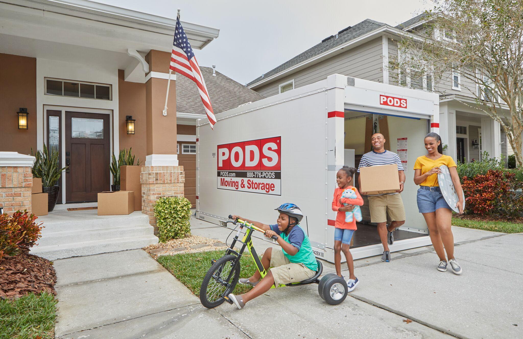 Unloading a Pod